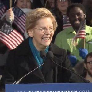 Elizabeth Warren Calls for Break Up of Amazon, Facebook, Google