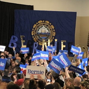 Op-Ed: Sanders Supporters See Victory in New Hampshire