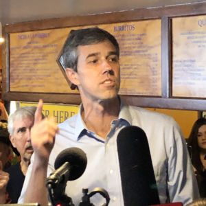 "Beto in New Hampshire: ""I Back Drivers Licenses for Illegals"""