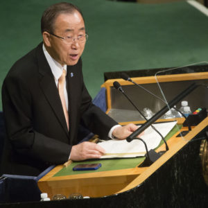 Words of Wisdom From Ban Ki-moon