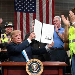 Energy Industry Pleased by Trump Executive Order Expediting Pipeline Approval