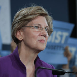 Elizabeth Warren Wants to Fine Companies $100 for Every Piece of Personal Data They Compromise
