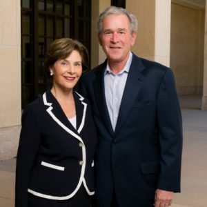 Q&A With President George W. Bush on the Importance of Leadership and Humor