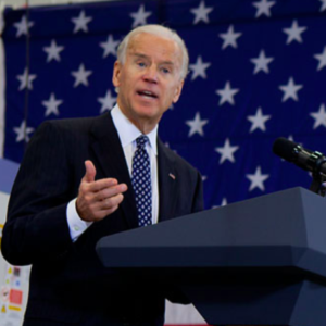 Joe Biden's No Moderate on Immigration