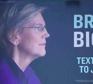 Big Tech Fires Back at Elizabeth Warren's 'Break Up' Billboard
