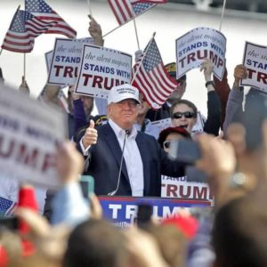 Trump Campaign 'Strongly Encouraging' Mask Wearing at Upcoming Campaign Rally in NH