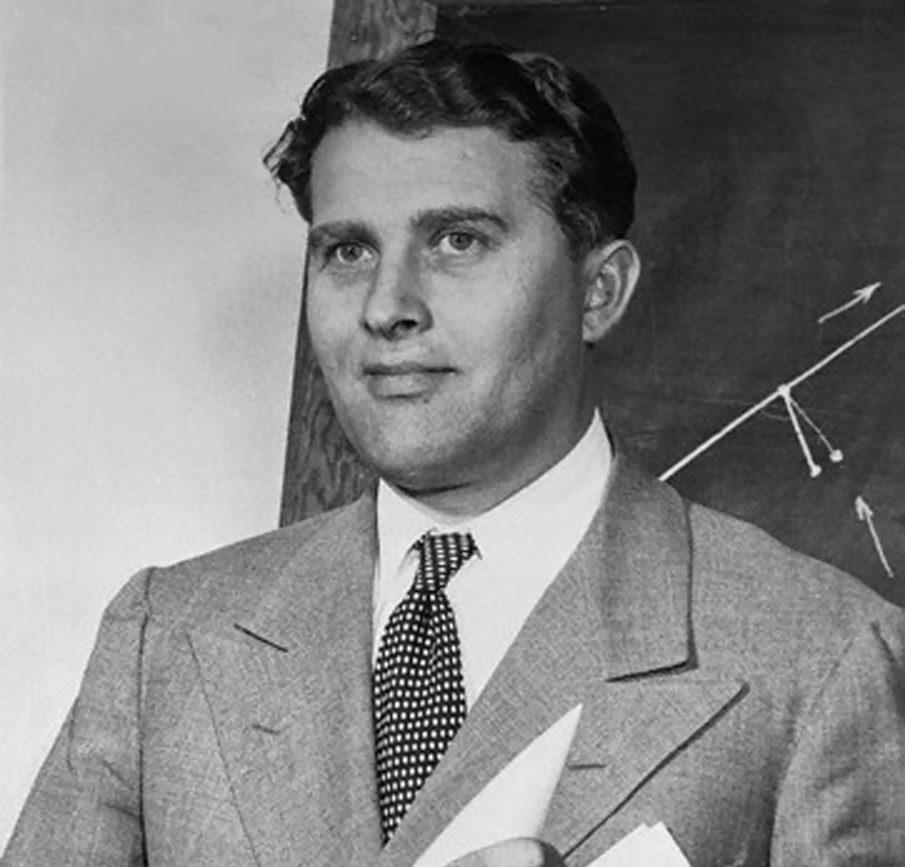 Reality Fantasy And Wernher Von Braun At Harvard