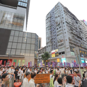 Hong Kong Protesters Find Few Supporters in Korea