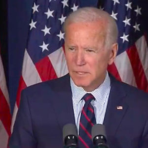 Biden Uses N.H. Stage to Call for Trump's Impeachment
