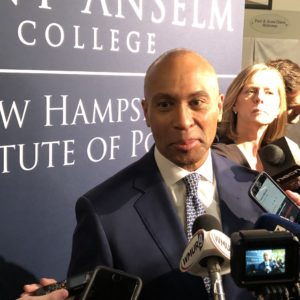 Deval Patrick Calls His Sister's Rape a 'Relapse' During NH Campaign Stop
