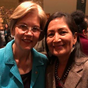 Warren Names NM U.S. Rep. Haaland, a Native American, Co-Chair of Her Campaign