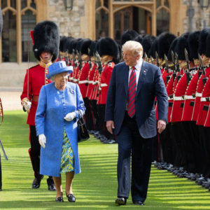 Does the Queen Have a Fondness for Trump?