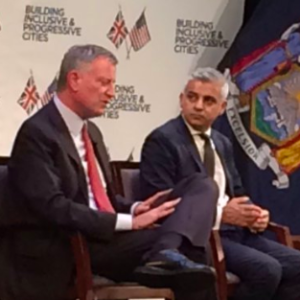 New York and London Mayors Choose to Posture on Climate