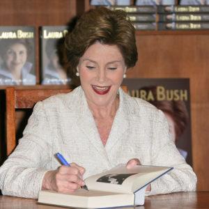 Laura Bush Q&A: 'Look Up, Laura, Look Up'