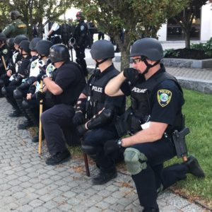 Police Kneeled With Me, Then They Drew Their Guns