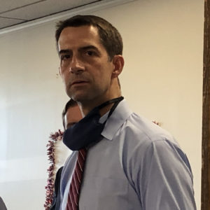 Cotton Calls Out MA Dem Over 'Red State' COVID Comments: 'Nobody Deserves This Virus'