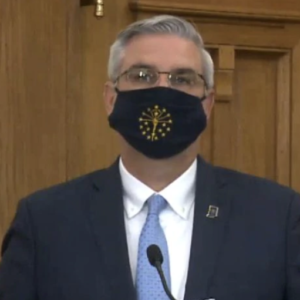 Could His Mask Mandate Cost Indiana's Governor His Job?