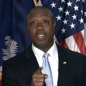 NH Republicans Talk Up Tim Scott '24 After Biden Rebuttal Performance