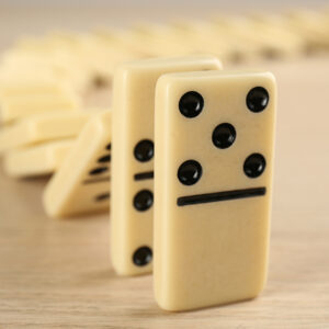The Fall of the Financial Dominoes